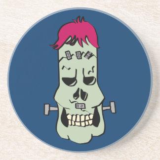 Frankenskull Coaster