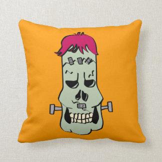 Frankenskull Pillow