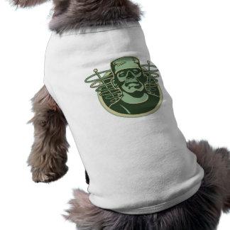 frankenstein2 sleeveless dog shirt