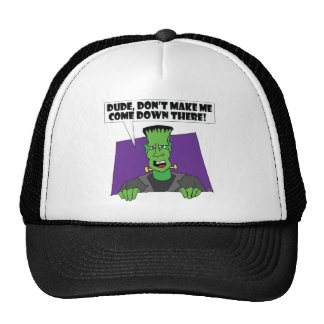 FRANKENSTEIN anger Trucker Hat