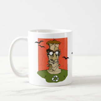 Frankenstein coffee mug halloween gift