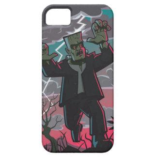 frankenstein creature in storm iPhone 5 cover