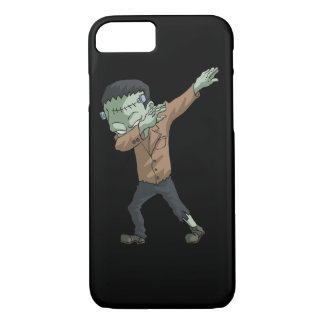 Frankenstein Dabbing Funny Halloween Dab Dance iPhone 8/7 Case