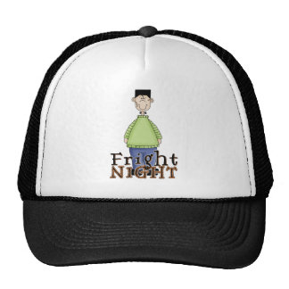 Frankenstein Fright Night Halloween Trucker Hats
