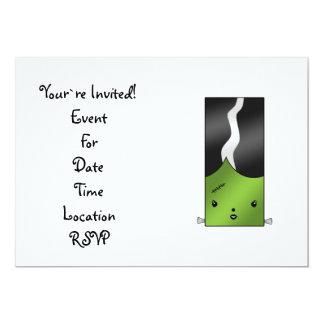 Frankenstein girl card