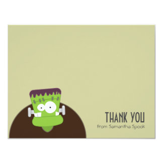 Frankenstein Monster | Flat Thank You Note Cards 11 Cm X 14 Cm Invitation Card