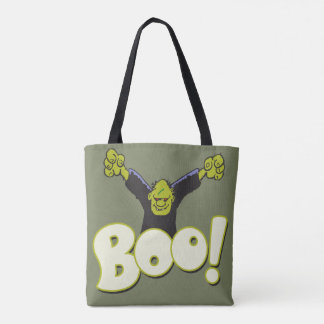 Frankenstein Monster Halloween Frankie Superhero Tote Bag