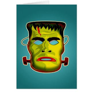 Frankenstein Monster Mask Card