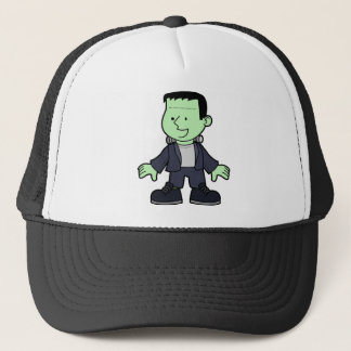 Frankenstein monster trucker hat