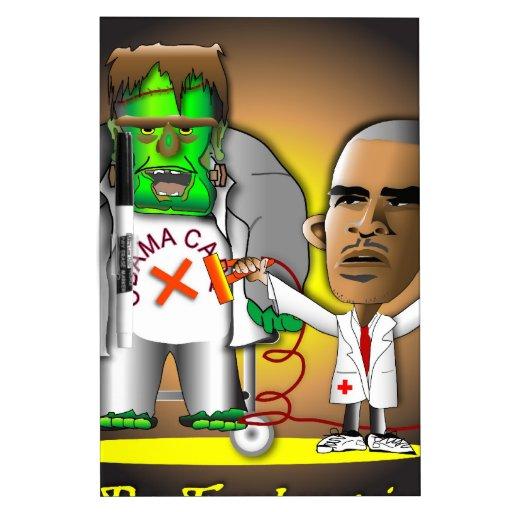 Frankenstein Obama Care Dry-Erase Whiteboard