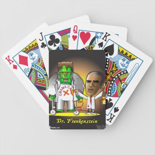 Frankenstein Obama Care Poker Deck