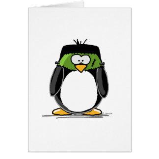 Frankenstein Penguin Card