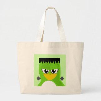 Frankenstein Penguin Large Tote Bag