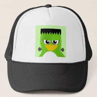 Frankenstein Penguin Trucker Hat