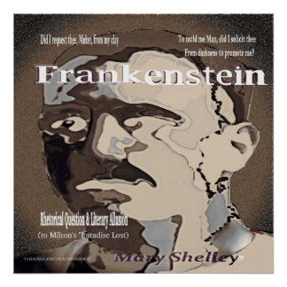 Frankenstein Rhetorical Question Poster