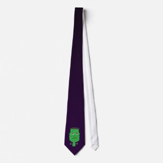 Frankenstein Tie in Purple