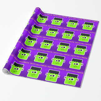 Frankenstein Wrapping Paper