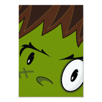 Frankensteins Monster RSVP Card 9 Cm X 13 Cm Invitation Card