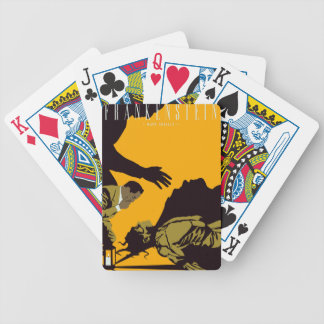 frankenstien bicycle playing cards