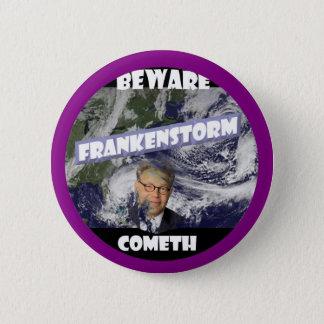 Frankenstorm 6 Cm Round Badge