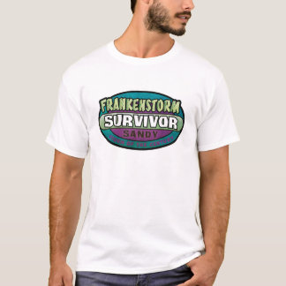 Frankenstorm Survivor T-Shirt