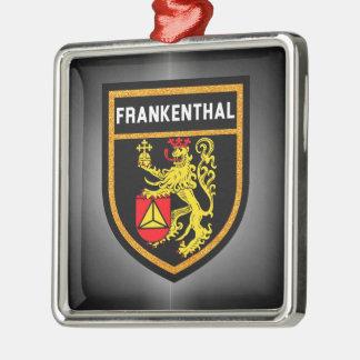 Frankenthal Flag Metal Ornament