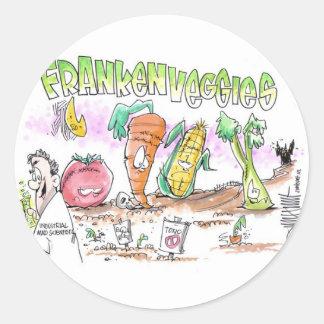 FrankenVeggies Millions Against Monsanto Stickers