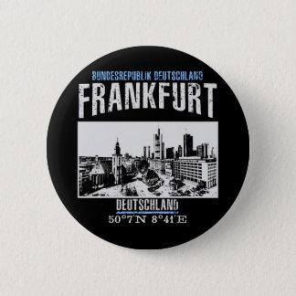 Frankfurt 6 Cm Round Badge