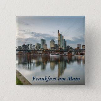 Frankfurt am Main 15 Cm Square Badge