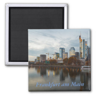 Frankfurt am Main skyline Magnet