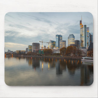 Frankfurt am Main skyline Mouse Pad