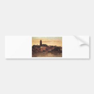 Frankfurt by Gustave Courbet Bumper Sticker