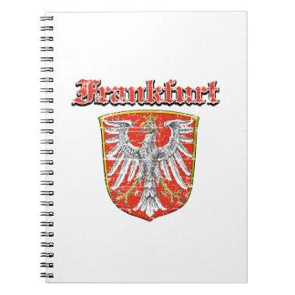 frankfurt City designs Spiral Notebook
