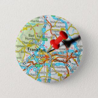 Frankfurt, Germany 6 Cm Round Badge