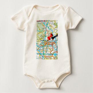 Frankfurt, Germany Baby Bodysuit