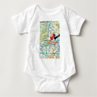 Frankfurt, Germany Baby Bodysuit