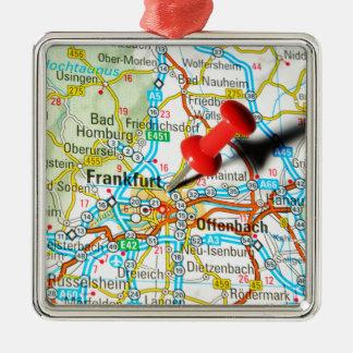 Frankfurt, Germany Metal Ornament