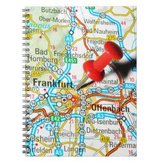 Frankfurt, Germany Spiral Notebook