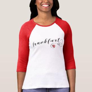 Frankfurt Heart Tee Shirt, Germany