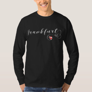 Frankfurt Heart Tee Shirt, Germany