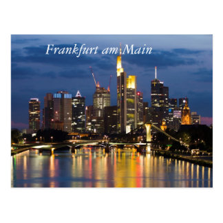 Frankfurt Postcard