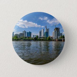 Frankfurt Skyline 6 Cm Round Badge