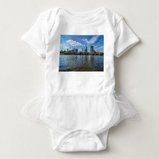Frankfurt Skyline Baby Bodysuit