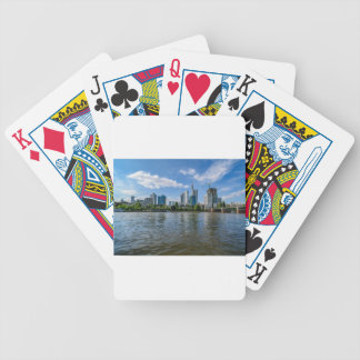 Frankfurt Skyline Bicycle Playing Cards
