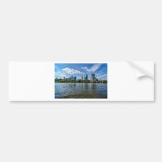 Frankfurt Skyline Bumper Sticker