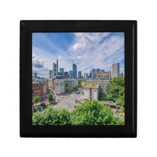 Frankfurt Skyline Gift Box