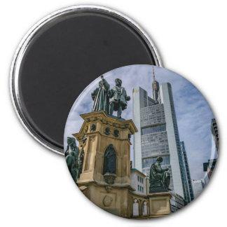 Frankfurt Skyline Magnet