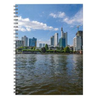 Frankfurt Skyline Notebooks