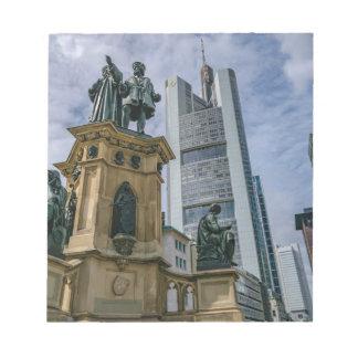 Frankfurt Skyline Notepad