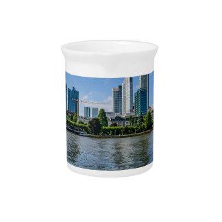 Frankfurt Skyline Pitcher